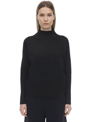 Falke Oversize Technical Viscose Blend Sweater Black