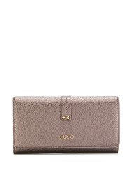 Liu Jo Logo Plaque Wallet Brown