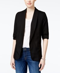 Bar Iii Three Quarter Sleeve Boyfriend Blazer Only At Macy's