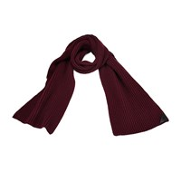 Aspinal Of London Rib Knit Merino And Cashmere Scarf