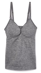 Rosie Pope Seamless Maternity Nursing Cami Graphite Heather