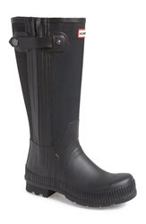 Hunter 'Original Tall Technical' Rain Boots Men Black