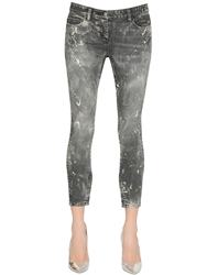 Faith Connexion Washed Stretch Cotton Denim Jeans Black