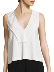 A.L.C. Clare Sleeveless Top Eggshell