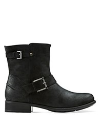 Clarks Plaza Float Boots Black