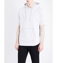 Criminal Damage Baller Cotton Jersey Hoody Frost Grey