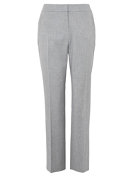 Viyella Stretch Flannel Trousers Silver Grey