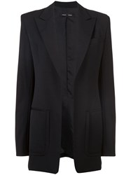 Proenza Schouler Wool Suiting Blazer Black
