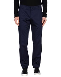 Frankie Morello Trousers Casual Trousers Men Blue