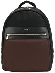 Paul Smith Zip Around Backpack Black