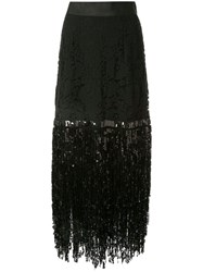 Romance Was Born Disco Dame Skirt Black