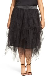 Melissa Mccarthy Seven7 Plus Size Women's Tiered Tulle Skirt