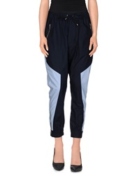 Marios Casual Pants Dark Blue