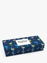 Happy Socks Print Gift Box Pack Of 4 One Size