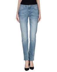 Fracomina Denim Denim Trousers Women Blue