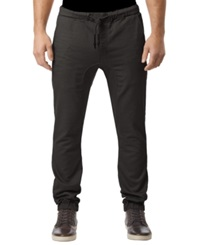 Buffalo David Bitton Zoltan X Dropped Crotch Jogger Pants Black