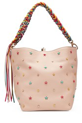 Red Valentino R.E.D. Embellished Leather Tote