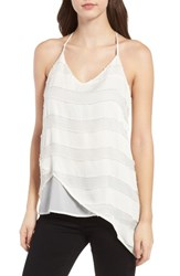 Trouve Women's Textured Asymmetrical Tank
