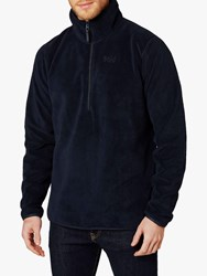 Helly Hansen Feather Pile 3 4 Zip Fleece Navy