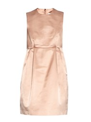 Raey Babydoll Silk Tuck Dress