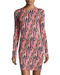 Jb By Julie Brown Morgan Giraffe Print Jersey Dress Pastel