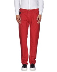 Pepe Jeans Trousers Casual Trousers Men Red