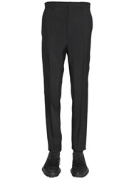 Lanvin 17Cm Viscose And Wool Blend Pants