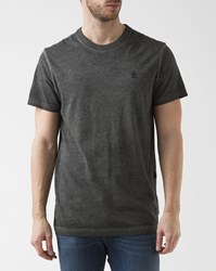 G Star Grey All Over Print Round Neck Meon T Shirt