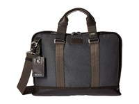 Tumi Alpha Bravo Andrews Slim Brief Anthracite Briefcase Bags Pewter