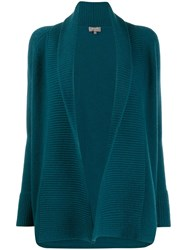 N.Peal Open Front Ribbed Cardigan 60