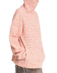 Tracy Reese Cowl Neck Sweater Creamsicle