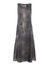 Crea Concept Spot Print Dress Dark Grey