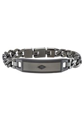 Fossil Mens Dress Bracelet Grau Grey
