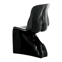 Horm And Casamania Him Chair Gloss Black