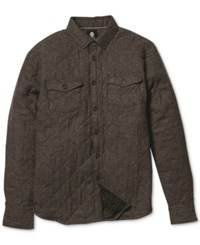 Element Rumble Quilted Long Sleeve Button Down Shirt