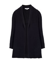 Morgan Shawl Collar Longline Cardigan Black
