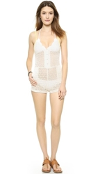 6 Shore Road By Pooja Pool Crush Romper Moonlight