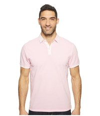 True Grit Soft Baby Picque Short Sleeve Polo Soft Pink Men's Clothing