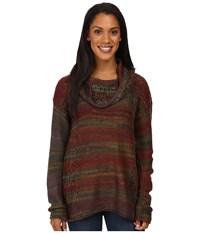 Royal Robbins Sophia Cowl Spruce Women's Sweater Green
