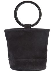 Simon Miller Top Handle Tote Women Leather One Size Black
