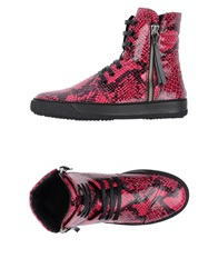 Bruno Bordese High Tops And Trainers Fuchsia