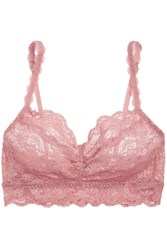 Cosabella Never Say Never Sweetie Stretch Lace Soft Cup Bra Pink