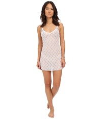 B.Tempt'd Lace Kiss Chemise White Women's Pajama