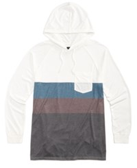 Rip Curl Men's Miso Colorblocked Hoodie Off White