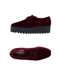 Alexander Smith Lace Up Shoes Maroon