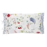 Pip Studio Hummingbirds Star White Bed Cushion Multi