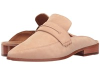 Frye Ellie Mule Blush Oiled Nubuck Women's Shoes Khaki