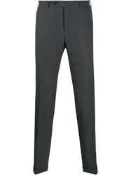 Canali Slim Fit Pleated Trousers 60