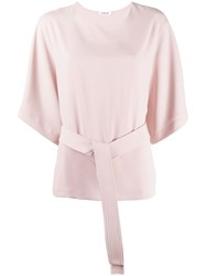 P.A.R.O.S.H. Belted Plain Blouse 60