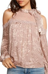 Willow And Clay Women's Cold Shoulder Top Ballet